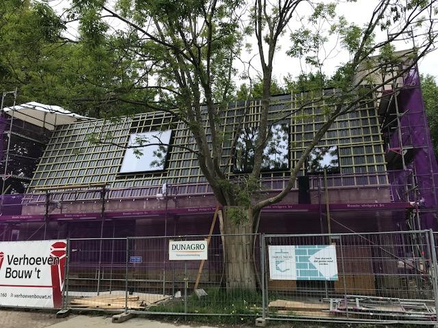 Construction project Rotterdam
