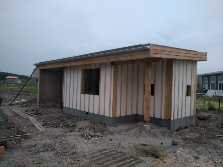 Construction project guest house Almere